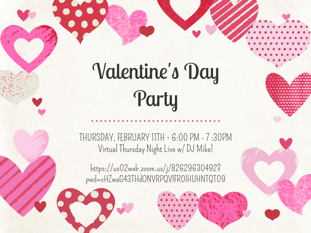 Virtual Valentine's Day Party